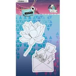 (STAMPHM459)Studio light Stamp Happy Moments nr.459