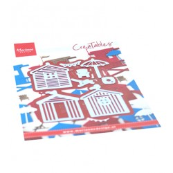 (LR0662)Creatables Beach Houses set