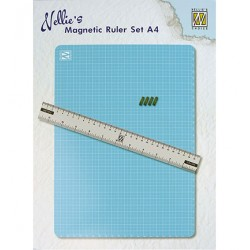 (MAGM001)Nellie`s Choice Magnetic Ruler set A4