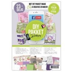 (FDIY0002)Facebook Live DIY Pakket - Butterfly