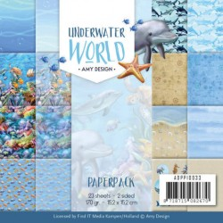(ADPP10033)Paperpack - Amy Design - Underwater World