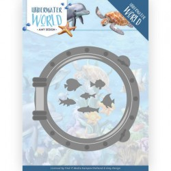 (ADD10210)Dies - Amy Design - Underwater World - Porthole
