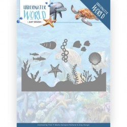 (ADD10211)Dies - Amy Design - Underwater World - Sea Life