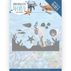 (ADD10211)Dies - Amy Design - Underwater World - Sea Life
