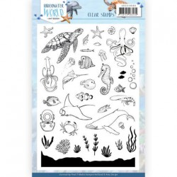 (ADCS10068)Clear Stamps - Amy Design - Underwater World
