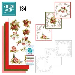 (STDO134)Stitch and Do 134 - Precious Marieke - Touch of Christmas