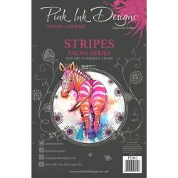 (PI061)Pink Ink Designs Clear stamp Stripes