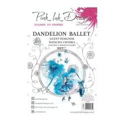 (PI066)Pink Ink Designs Clear stamp Dandelion ballet