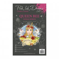 (PI069)Pink Ink Designs Clear stamp Queen bee