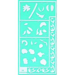 Pergamano stencil anemone (33304)