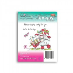 (PD8071)Polkadoodles There's Gnome Body Like You Clear Stamps