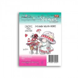 (PD8072)Polkadoodles Gnome More Bargains Clear Stamps