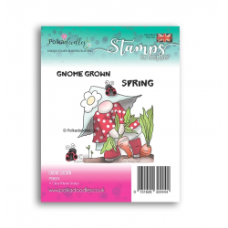 (PD8074)Polkadoodles Gnome Grown Clear Stamps