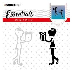 (BASICSDC43)Studio light Stamp & Die Cut Essentials 43