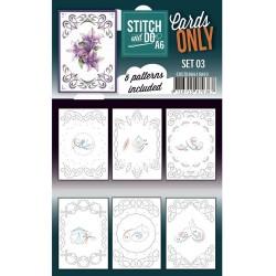 (COSTDOA610003)Cards Only Stitch A6 - 003