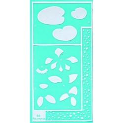 Pergamano stencil water lily (33305)
