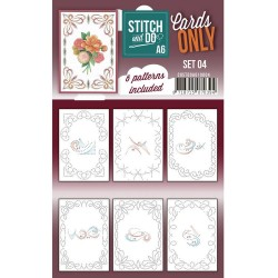 (COSTDOA610004)Cards Only Stitch A6 - 004