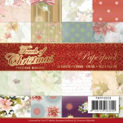 (PMPP10028)Paperpack - Precious Marieke - Touch of Christmas