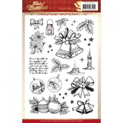 (PMCS10045)Clear Stamps - Precious Marieke - Touch of Christmas