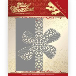 (PM10183)Dies - Precious Marieke - Touch of Christmas - Christmas Bow Border