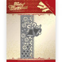 (PM10184)Dies - Precious Marieke - Touch of Christmas - Christmas Bells Border