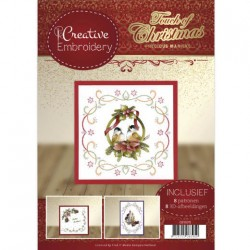 (CB10015)Creative Embroidery 15 - Precious Marieke - Touch of Christmas