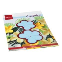 (LR0666)Creatables Frangipani flower