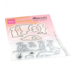 (ec0183)Clear Stamp Eline's Animals - meercats