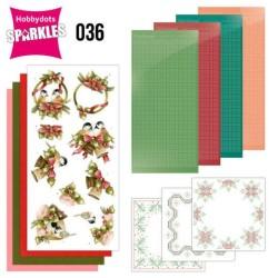 (SPDO036)Sparkles Set 36 -  Precious Marieke - A Touch of Christmas - Birds