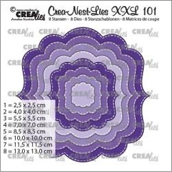 (CLNestXXL101)Crealies Crea-Nest-Lies XXL Fantasy shape B