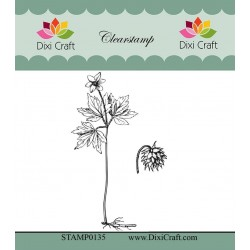 (STAMP0135)Dixi Craft Botanical Collection 1 Clear Stamp