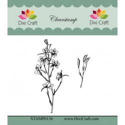 (STAMP0136)Dixi Craft Botanical Collection 2 Clear Stamp