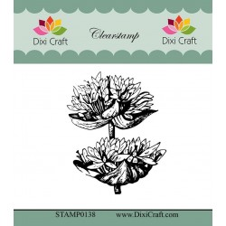 (STAMP0138)Dixi Craft Botanical Collection 4 Clear Stamp