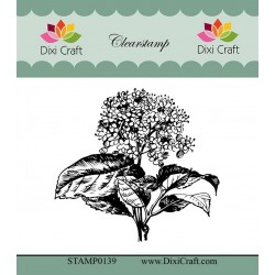 (STAMP0139)Dixi Craft Botanical Collection 5 Clear Stamp