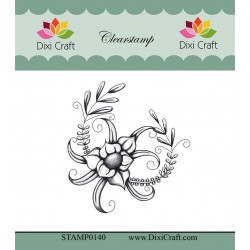 (STAMP0140)Dixi Craft Botanical Collection 6 Clear Stamp