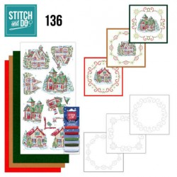 (STDO136)Stitch and Do 136 - Yvonne Creations - Villages