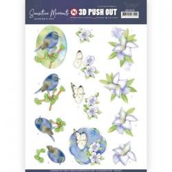 (SB10470)3D Push Out - Jeanine's Art - Sensitive Moments - Lily