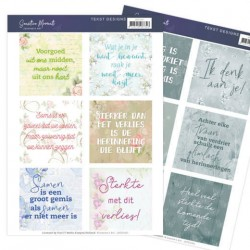 (JATD1001)Tekst Designs - Jeanine's Art - Sensitive Moments (NL)