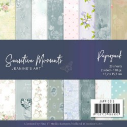 (JAPP10015)Paperpack - Jeanine's Art - Sensitive Moments