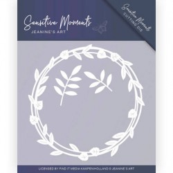 (JAD10097)Dies - Jeanine's Art - Sensitive Moments - Leaf Circle