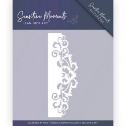 (JAD10098)Dies - Jeanine's Art - Sensitive Moments - Swirl Border