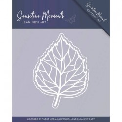 (JAD10100)Dies - Jeanine's Art - Sensitive Moments - Leaf