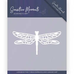 (JAD10101)Dies - Jeanine's Art - Sensitive Moments - Dragonfly