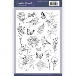 (JACS10032)Clear Stamps - Jeanine's Art - Sensitive Moments