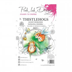 (PI067)Pink Ink Designs Clear stamp Thistlehogs