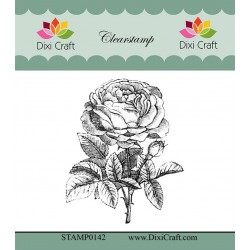 (STAMP0142)Dixi Craft Botanical Collection 8 Clear Stamp