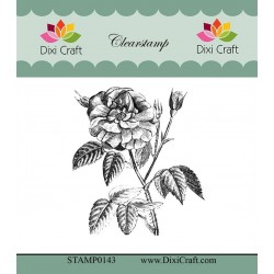 (STAMP0143)Dixi Craft Botanical Collection 9 Clear Stamp