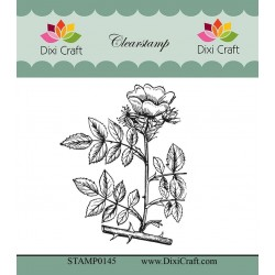 (STAMP0145)Dixi Craft Botanical Collection 11 Clear Stamp