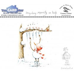 (CCSBDD)The Card Hut Snowboots: Ding Dong Merrily on High Clear Stamps