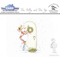 (CCSBHI)The Card Hut Snowboots: The Holly and the Ivy Clear Stamps